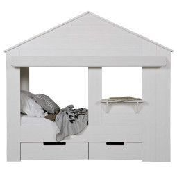 WOOOD Exclusive Huisie bedstee kinderbed
