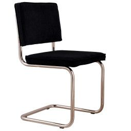 Zuiver Chair Ridge Brushed chrome Rib