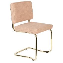 Zuiver Ridge Kink Teddy stoel zonder armleuningen
