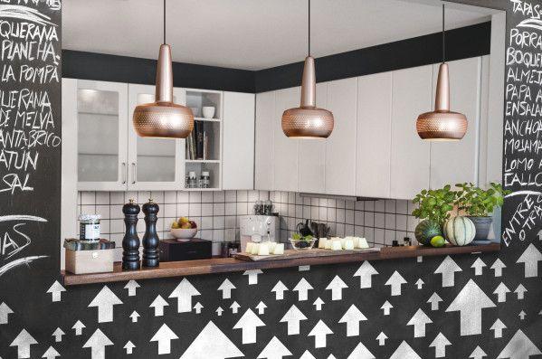 Umage Clava hanglamp met zwart snoer