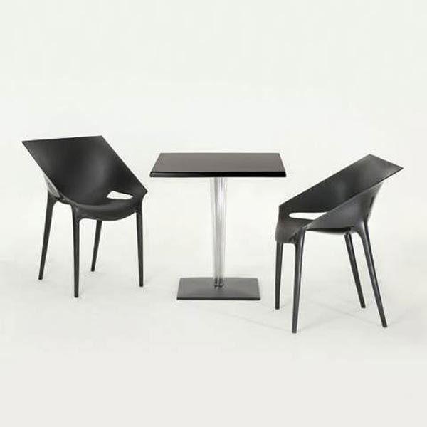Kartell TopTop tafel voor Dr YES tafel 70x70