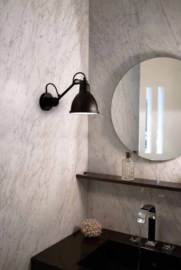 DCW éditions Lampe Gras N304 badkamer wandlamp