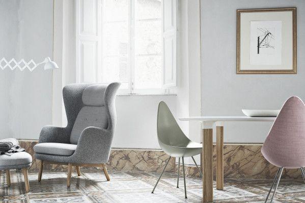 Fritz Hansen Ro JH11 Foot Stool voetenbank designers selection