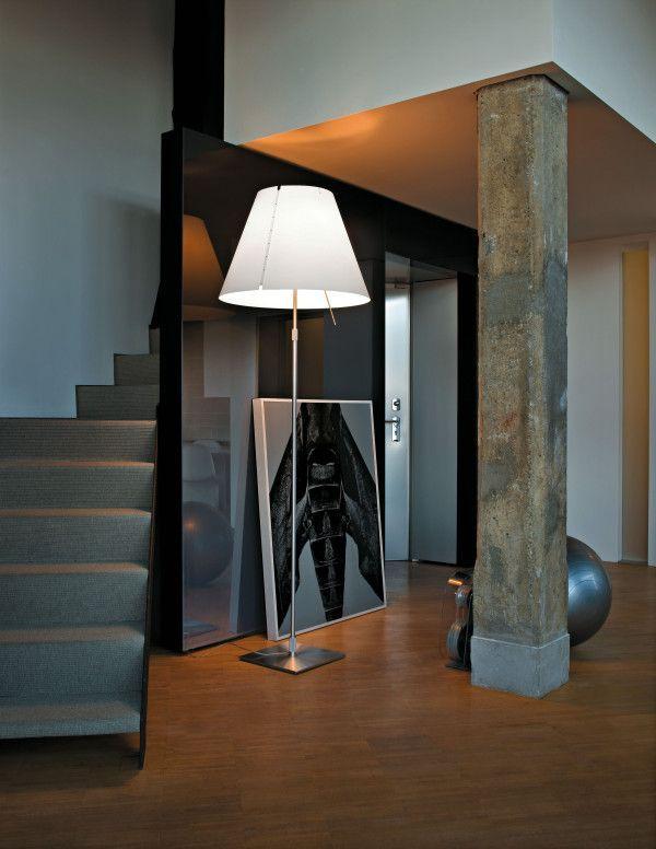 Luceplan Grande Costanza vloerlamp telescopisch met dimmer