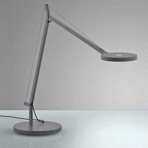 Artemide Demetra bureaulamp LED antraciet grijs 3000K - zacht wit