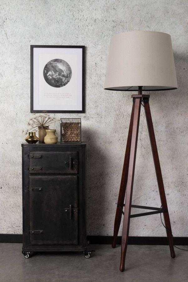 Dutchbone Rif vloerlamp