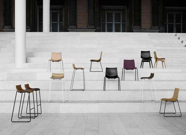 Carl Hansen & Son Preludia 4-Leg stoel gestoffeerd
