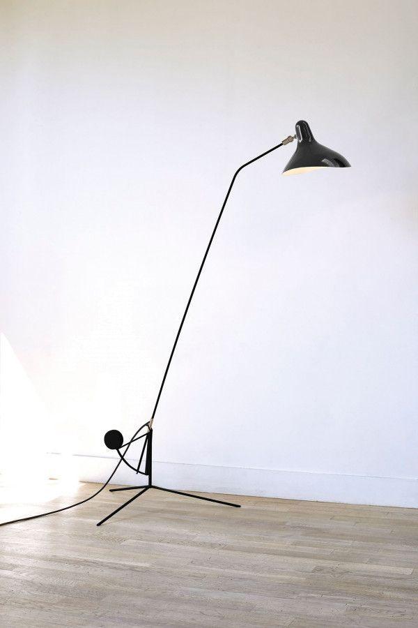 DCW éditions Lampe Mantis BS1 vloerlamp