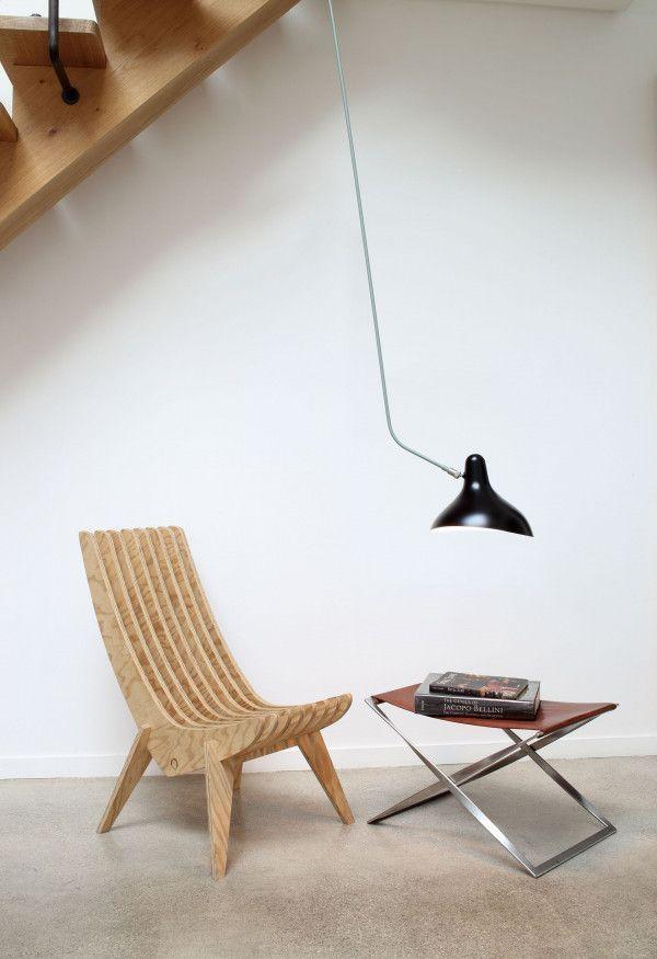 DCW éditions Lampe Mantis BS4L plafondlamp