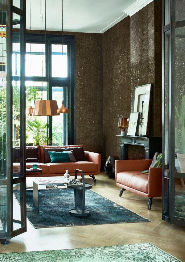 Design on Stock Byen Lounge bank 3-zits 1-arm + dormeuse