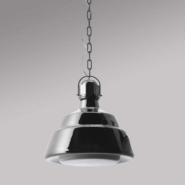 Diesel Glas hanglamp chroom