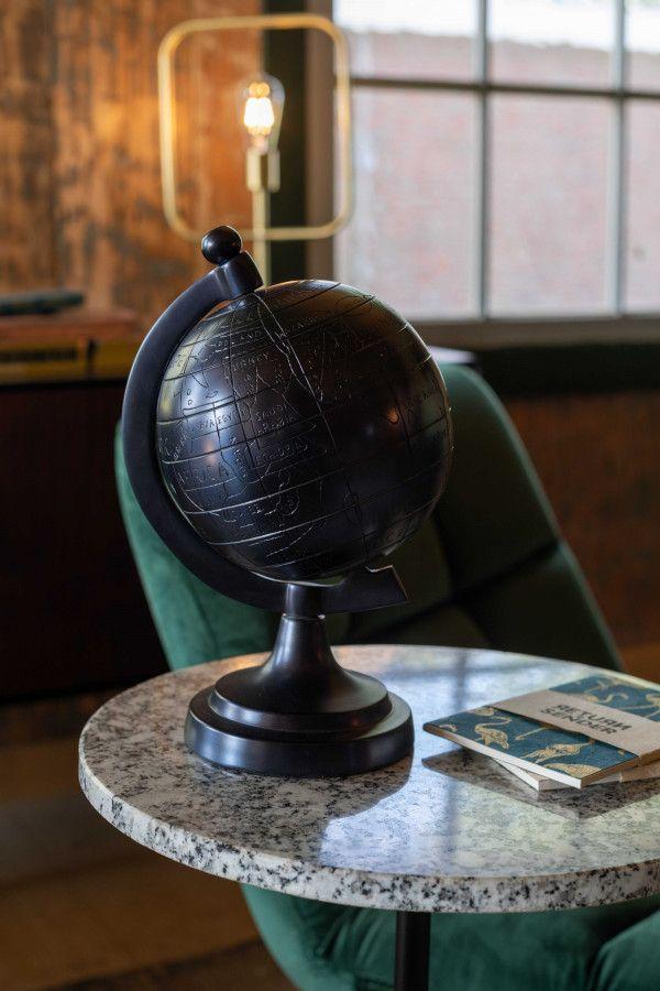 Dutchbone Miles wereldbol woondecoratie