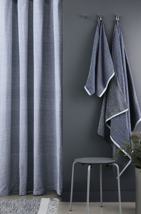 Ferm Living Chambray douchegordijn
