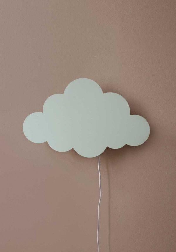 Ferm Living Tweedekansje - Cloud wandlamp mint