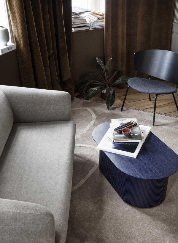 Ferm Living Herman fauteuil met zitkussen