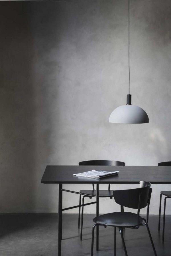 Ferm Living Dome Light Grey hanglamp