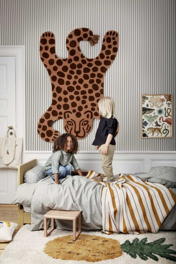 Ferm Living Fruiticana Tufted vloerkleed 120x80