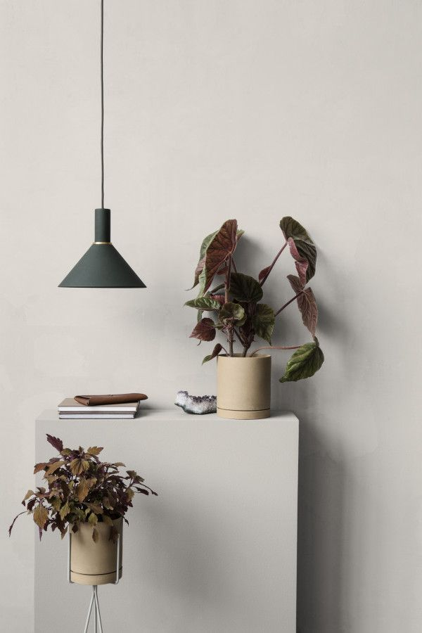 Ferm Living Hoop Red Brown hanglamp