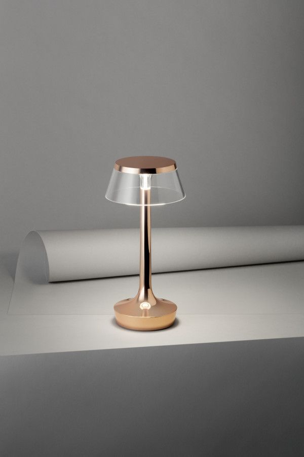 Flos Bon Jour Unplugged tafellamp LED wit