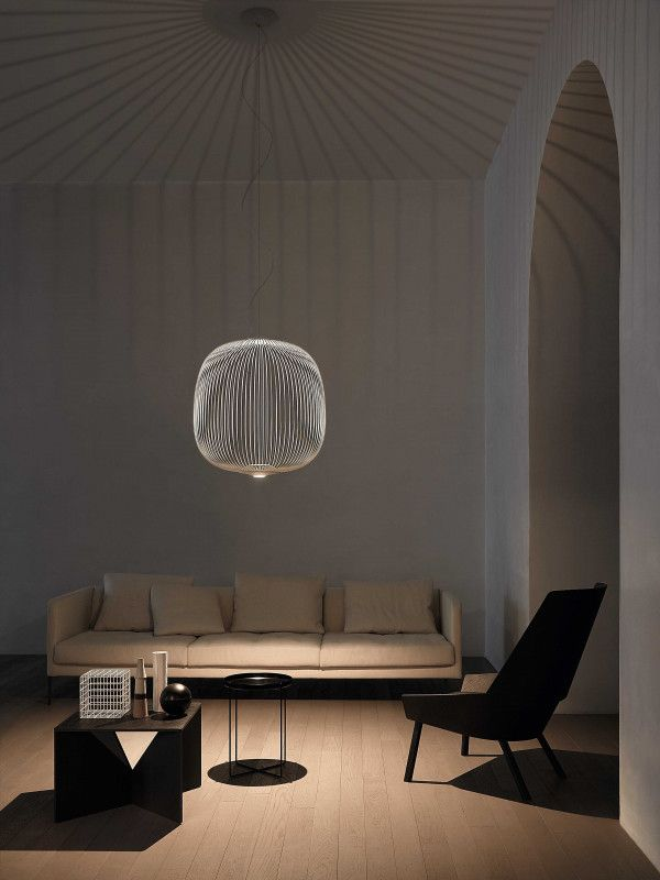 Foscarini Spokes 2 large MyLight hanglamp LED dimbaar Bluetooth