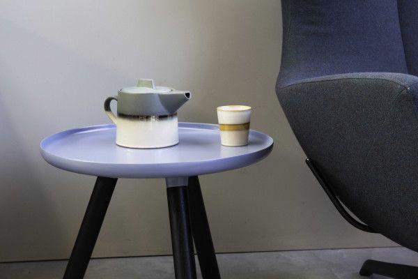 Normann Copenhagen Tablo salontafel zwart/blauw (Special Edition)