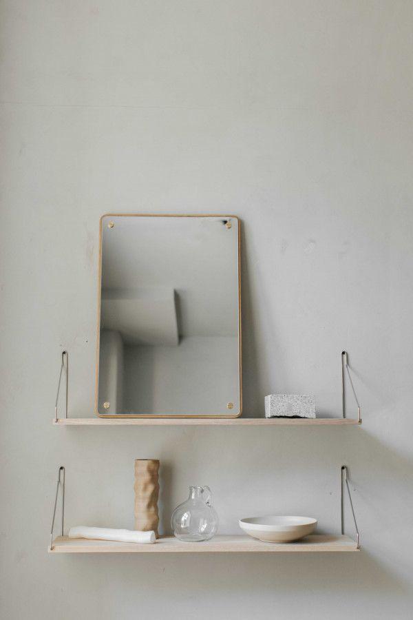 Frama Shelf White wandplank 80x20