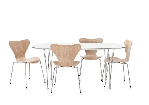 Fritz Hansen B619 uitschuifbare tafel 300x120