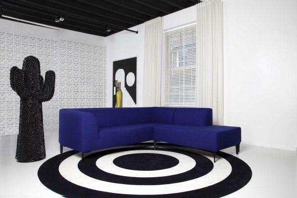Gelderland 7950 Allure bank 3-zits met chaise longue rechts blauw