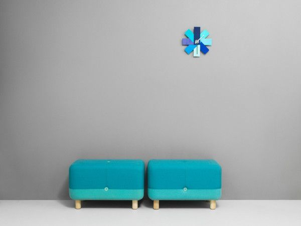 Normann Copenhagen Watch Me Wall klok