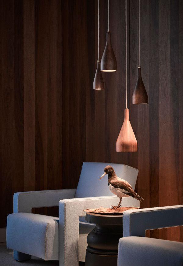 Hollands Licht Timber hanglamp medium