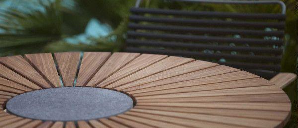 Houe Circle Gartenset 110 Tisch + 4 Stühle
