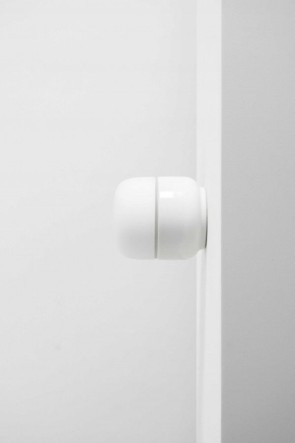 Ifö Electric Ohm 100/110 plafond-en wandlamp porselein IP44