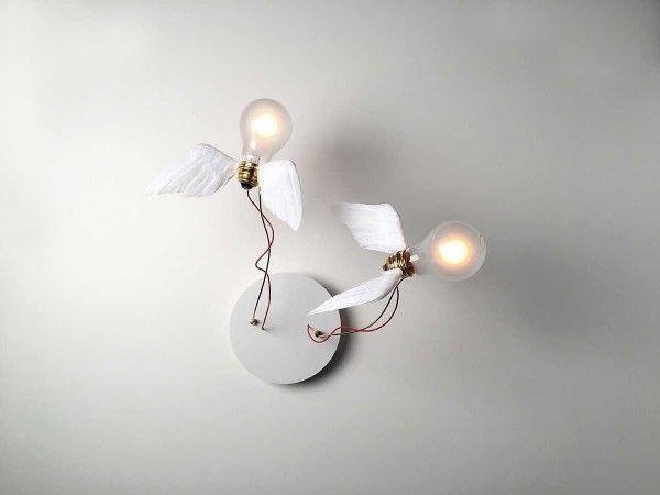 Ingo Maurer Lucellino Doppio wandlamp