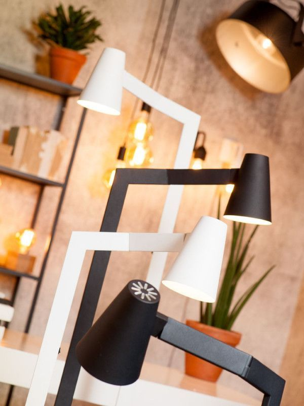 It's about Romi Outlet - Biarritz vloerlamp wit