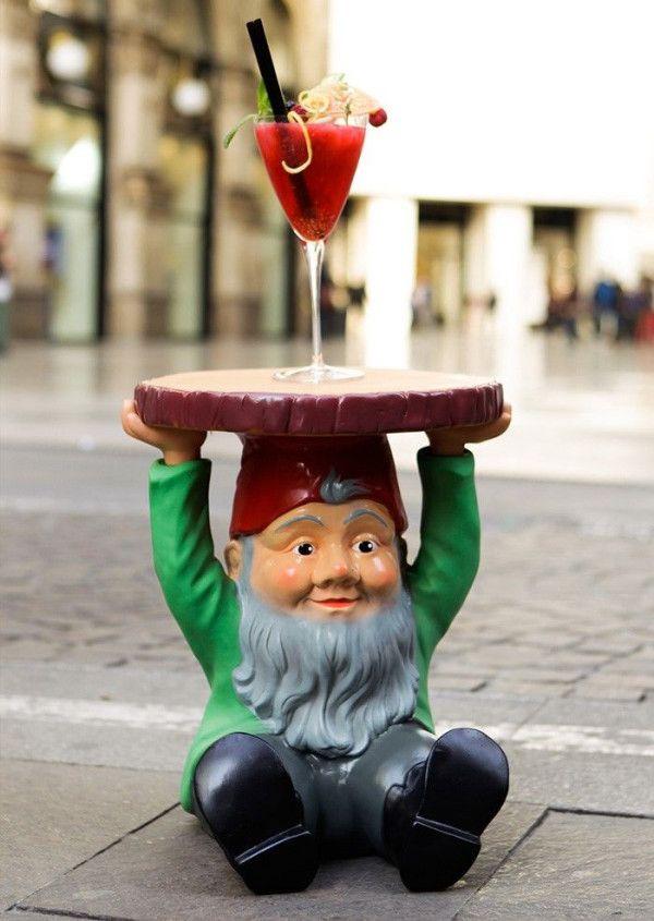 Kartell Attila Gnomes bijzettafel 40
