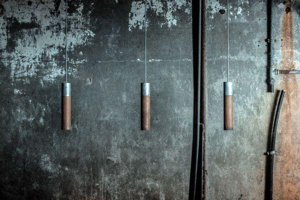 Graypants Roest Vertical 15 zinc hanglamp