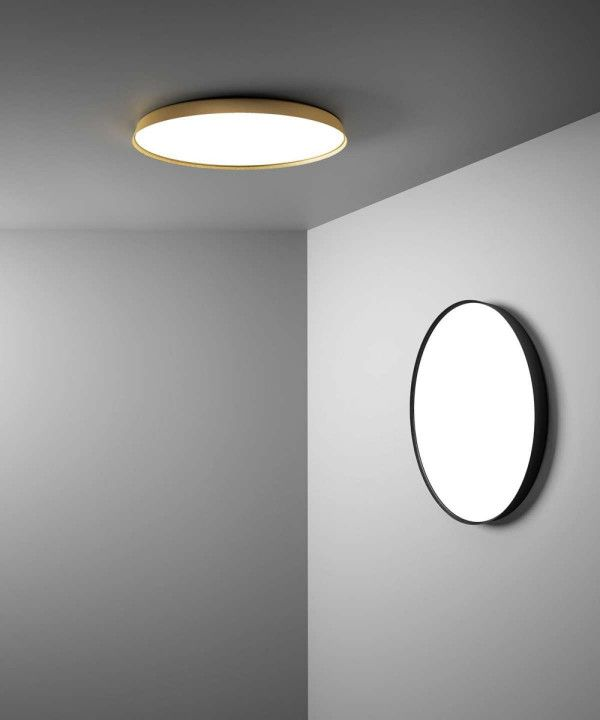 Luceplan Compendium plate plafondlamp LED 2700K