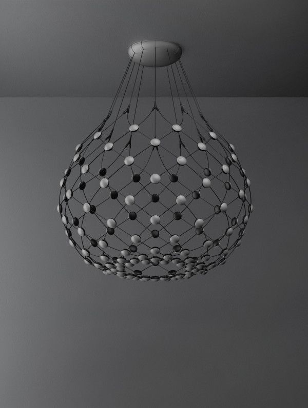 Luceplan Mesh hanglamp LED met 5 meter snoer