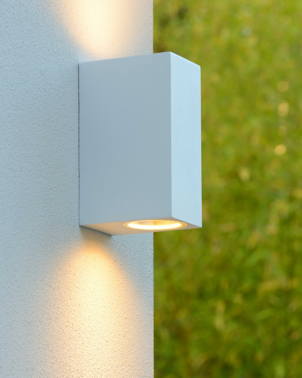 Lucide Zora 2 wandlamp LED vierkant IP44