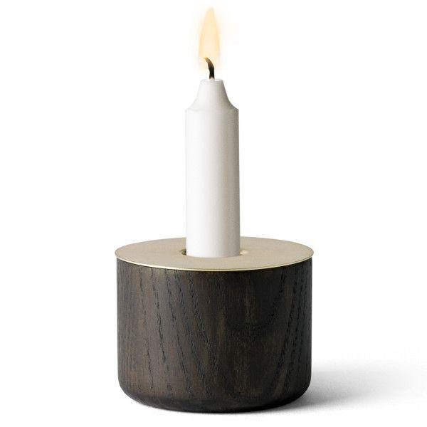 Menu Chunk of Wood kaarsenstandaard