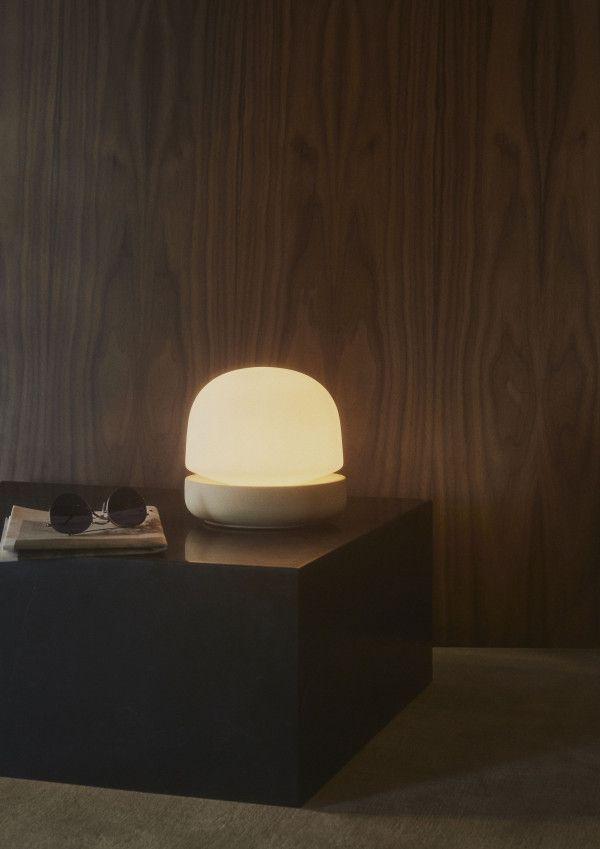 Menu Stone tafellamp