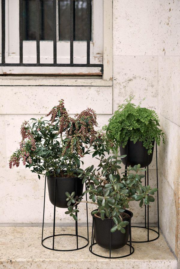 Menu Wire 202 plantenbak zwart