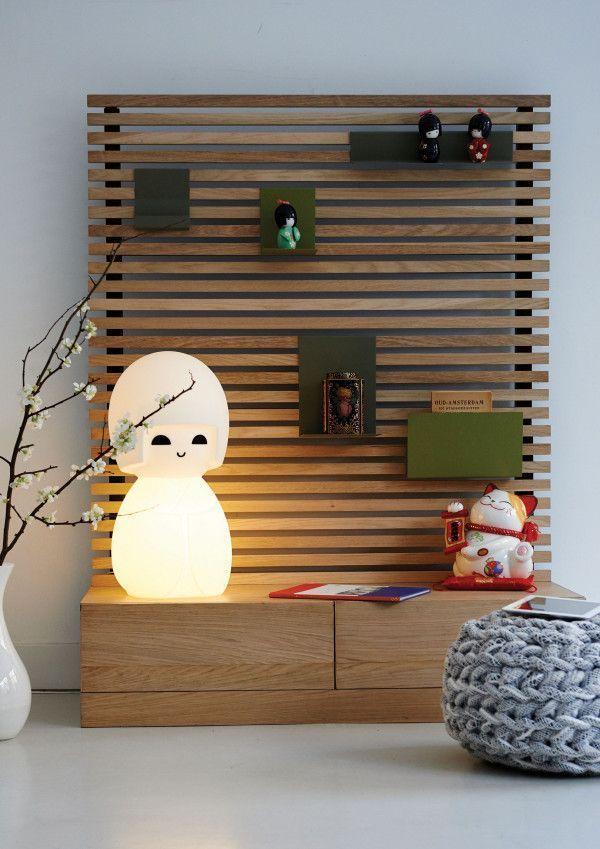 Mr Maria Kokeshi tafellamp