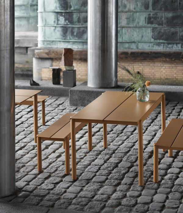 Muuto Linear bank zwart 170