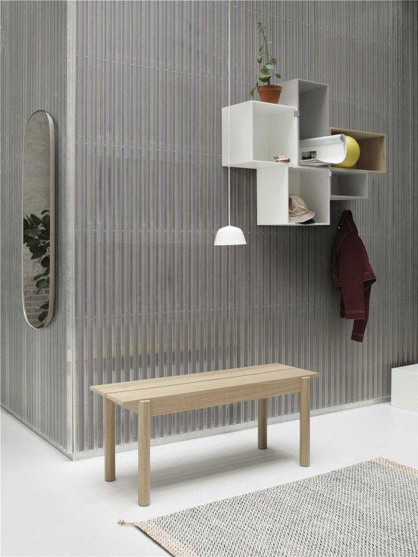 Muuto Linear wood bank 110x34