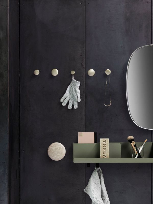 Muuto The Dots Metal haak medium