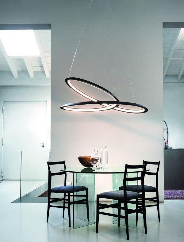 Nemo Kepler hanglamp LED uplight