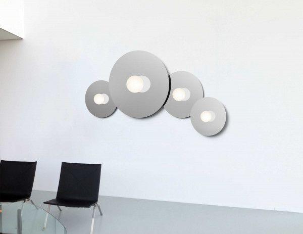 Pablo Bola Disc Flush 18 wandlamp LED