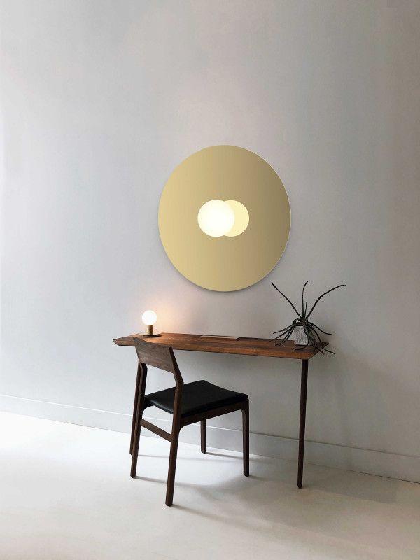 Pablo Bola Disc Flush 32 wandlamp LED