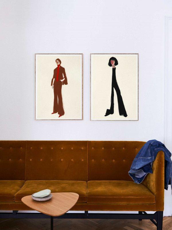 Paper Collective The Suit poster incl. eiken lijst 50x70